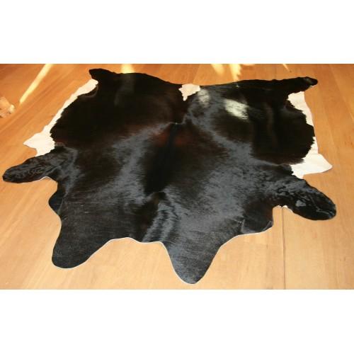 Kuhfell schwarz mit weiß